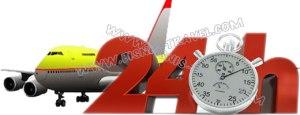 gambar ilustrasi bisnis tiket pesawat onlne 24jam